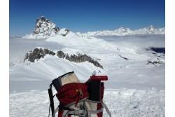 Tour del Midi d´Ossau con raquetas de nieve, Pirineos
