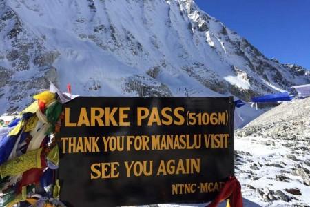 Trekking del Manaslu, Nepal